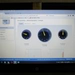 Anzeige Solarlog mit Eigenverbauch