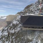Fertige PV Anlage Klein Matterhorn
