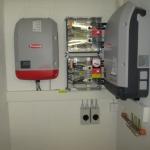 Fronius Wechselrichter mit Überspannungsschutz
