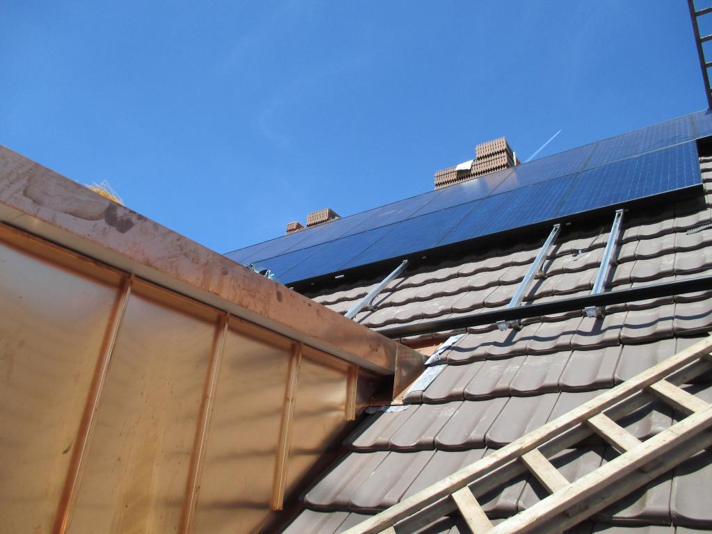 PV Anlage Mehrfamilienhaus in Gerlikon – Frauenfeld   Solarbau Lowel