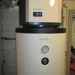 Smart Home Boiler mit Wärmepumpe