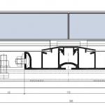 Planungsdetails/ Schnitt Tritec Schiene