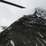 Heliflug zur Hörnlihütte auf 3200m
