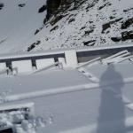 Schnee am Tag 3