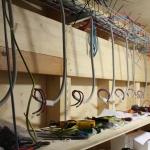 Alte Generatoranschlusskästen sind demontiert