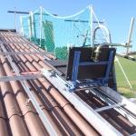 Modullift bis 14m Höhe zum Transport der Photovoltaikmodule
