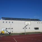 Ansicht vom Sportplatz