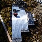 Montagematerial in Alu und rostfreiem Stahl