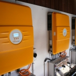Solarmax Wechselrichter 15MT3, Übertspannungsschutz von Weidmüller